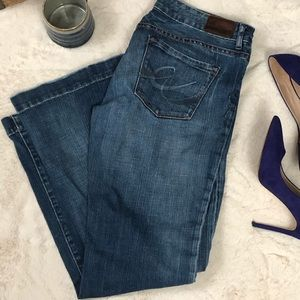 Express Jeans Stella Fit and Flare